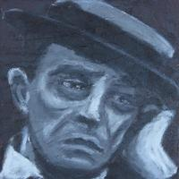 Buster Keaton [25 x 25 cm]